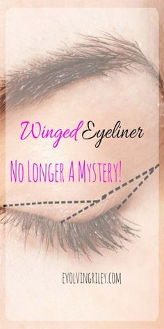 Winged Eyeliner Tutorials - Perfect Winged Eyeliner Is No Longer A Mystery - Easy Step By Step Tutorials For Beginners and Hacks Using Tape and a Spoon, Liquid Liner, Thing Pencil Tricks and Awesome Guides for Hooded Eyes - Short Video Tutorial for Perfect Simple Dramatic Looks - thegoddess.com/winged-eyeliner-tutorials