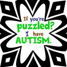 If you're puzzled?