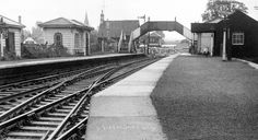 Warmley Station, South Gloucestershire BS30 | by brizzle born and bred Bristol England, Wooden Buildings, City Of Bristol, Old Photos, Railroad Tracks, Cathedral, The Neighbourhood, Train Stations, Bath