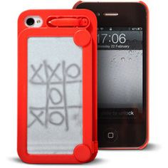 iFoolish iPhone Case put an etch-a-sketch on your phone!