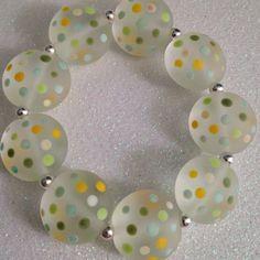 Polka dotted bracelet