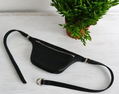 Leather Waist Bag от RanchoStyle на Etsy
