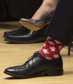 A short history of Justin Trudeau's strong sock game Nylons, Tap Shoes, Dance Shoes, The Great White, Justin Trudeau, Try Harder, Cool Socks, Cool Style, Oxford Shoes