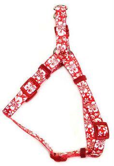 Comfort Wrap Dog Harness-Hibiscus