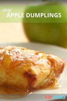 Apple dumplings, Easy apple dumplings and Dumplings on Pinterest