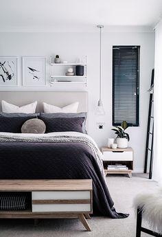 Une chambre classique   #design, #décoration, #chambre, #luxe. Plus de…