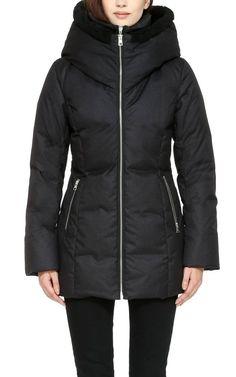 Soïa & Kyo Down Winter Jacket Pearlie – mixmix.ca