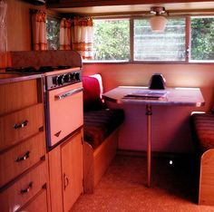 vintage trailers. One awesome way to get there!