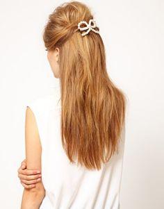 ASOS pearl bow cuteness
