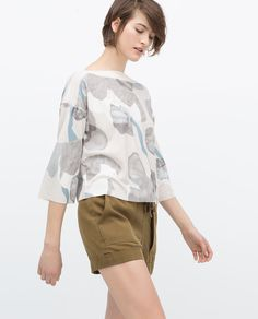 Image 3 of PRINTED TOP from Zara