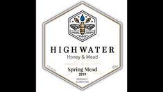 Introducing High Water Honey & Mead Honey Mead, Bee Farm, How To Raise Money, Geeks, Water, Food, Gripe Water, Essen, Meals