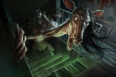 MAMA Scared Stiff Contest |   2nd Place: Something is in the Basement by david-sladek.deviantart.com