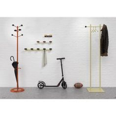 Funky Coat Stands. Coat Stands UK. Coat Rails Hat And Coat Stand, Coat Stands, Coat Rail, Home Office Furniture Uk, Wood Hooks, Funky Hats, Stylish Hats, Diy Storage, Wardrobe Rack