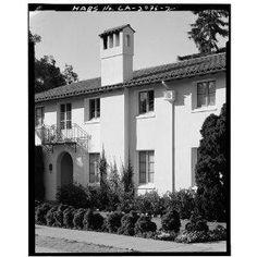 John G Kennedy House. c 1920s. Palo Alto, California. Julia Morgan. Spanish Colonial Revival.