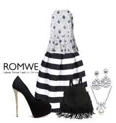 """romwe"" by kim-coffey-harlow ❤ liked on Polyvore featuring TIBI, Giuseppe Zanotti and MBLife.com"