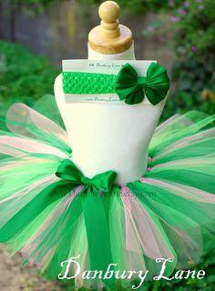 St Patricks Day Baby tutu Only, infant green dress up skirt, girls sizes newborn,3,6,9,12,18,or 24 months -IRISH PRINCESS. $21.95, via Etsy.