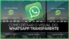 Como ter o WhatsApp transparente