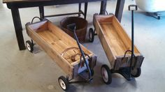 Oh, what fun! Ammo box wagons! Clamp down lids are included for $74.95 each ONLY at #2Brothers501!