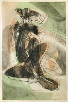 lostsoulboy:   Le Couple 1952 - Stanley William Hayter