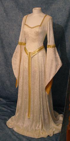 Vestido de elfa vestido medieval Renacimiento por camelotcostumes