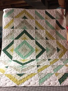 Ripple. Quilting by Cool Branch Quiltery!