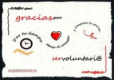 #garabateandosonrisas #gracias por ser #voluntario