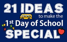 Make the first day of school & starting kindergarten special for your child with 21 creative ideas and traditions from the Bright Horizons parent blog.