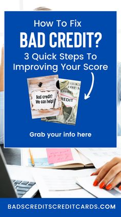 Bad Credit Repair Tips. The world of bad credit repair is quickly turning into an exciting field to work in, and many people are discovering the amazing opportunities that await them. A bad credit score can often put many people in a very bad financial situation, but with some basic steps that you can take to fix your credit score, you can turn your life around in no time. #badcredit #fixbadcredit #fixbadcreditscore #howtofixbadcredit #howtofixbadcreditscore Fix Bad Credit, Fix Your Credit, Improve Your Credit Score, Credit Repair Services, Turn Your Life Around, Credit Bureaus, Get A Loan, Free Advice, Very Bad