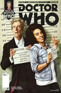 #DoctorWho Mugshots!