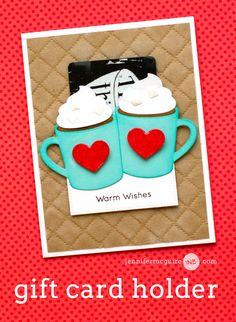 Gift Card Holder Video by Jennifer McGuire Ink