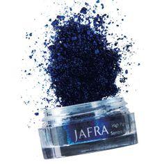 JAFRA Cosmetics High Pigment Eyeshadow in Blue Velvet #dramaticeyes #jeweltones #fallcolor