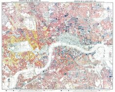 Descriptve Map London Poverty 1889, more at http://booth.lse.ac.uk/  blog: https://designingmaps.blogspot.com  #cartography #maps