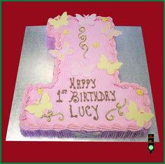 1st Birthday cake Lucy