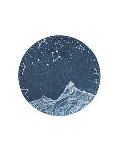 Fine Art PrintWinter Starlight by elisemahanfineart on Etsy