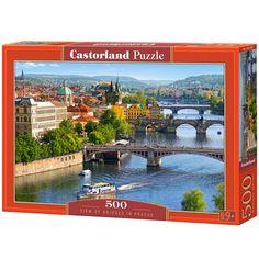 """Castorland """"Vltava Bridges in Prague Puzzle Piece) Prague, Countries Around The World, Around The Worlds, Puzzles, Bridge, Country, Discount Handbags, High Standards, Scene"""
