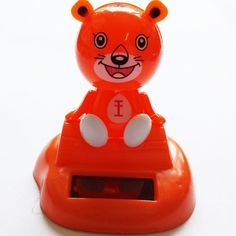 Solar-Powered Never End Dancing Tiger Orange no battery needed 3 | www.balligifts.com