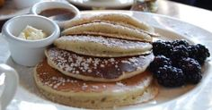 I love pancakes and these lemon ricotta pancakes from Sarabeths in NYC are some of my favorites!