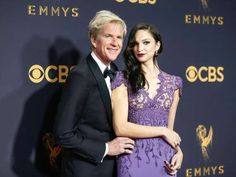 Matthew Modine lends his daughter, Shameless star Ruby Modine, some fatherly support on the red carp... - Danny Moloshok/Invision/AP