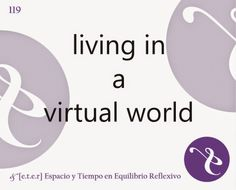 ETER LOUNGE: &R... living in a virtual world