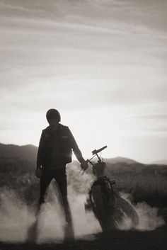 dust | bike | solitude | freedom | biker | motor bike | desert | rider |