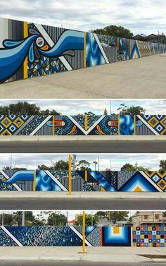 Graffiti Wall Art, Murals Street Art, Mural Wall Art, Mural Painting, Office Mural, Street Installation, Interactive Walls, School Murals, Exhibition Booth Design