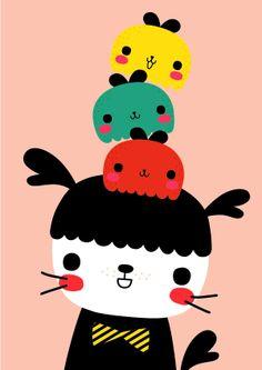 Illustration by Mochikaka.