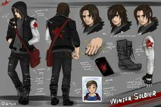 """""""CHARACTER RECRUITED!: WINTER SOLDIER"""""""