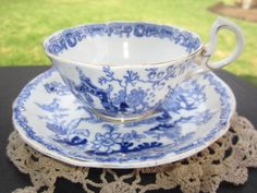 Royal Albert Crown China Blue Willow Mikado