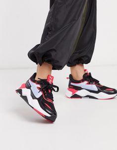 Puma - RS-X SCI-FI - Baskets - Noir Converse Rose, Reebok, Nike Air Max, Baskets, Basket Noir, Asos, Cute Sneakers, Black Shoes, Active Wear