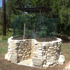 Keyhole Garden - Fall Planting New Braunfels, Texas