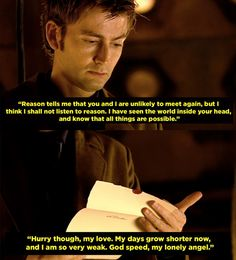 """When the Doctor told Reinette to pack a bag and join him, but she never made it into the TARDIS. 