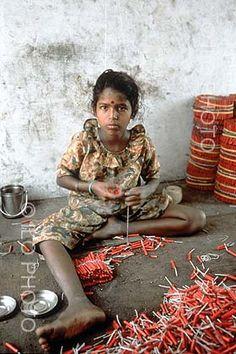 Diwali: Festival of Child Labour, Pollution and Insensitivity    Source: http://pranavshah.info/2006/10/21/diwali-festival-of-c...