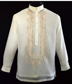 Jusilyn Barong Tagalog - Barongs R us Barong Tagalog For Women, Filipiniana Dress, Philippines Fashion, First Communion Dresses, Line Shopping, Formal Looks, Tuxedo, Suits, Stylish