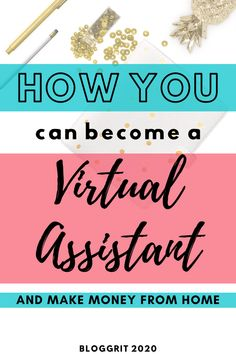 Jobs From Home - Become a Virtual Assistant. Perfect Job for housewives, women and moms. You can become a virtual assistant with no experience. No investment required to do this work from home job. #virtualassistant #va #money #job #makemoney Legit Work From Home, Online Work From Home, Work From Home Jobs, Make Money From Home, How To Make Money, How To Become, Virtual Jobs, Virtual Assistant Services, Extra Money Jobs